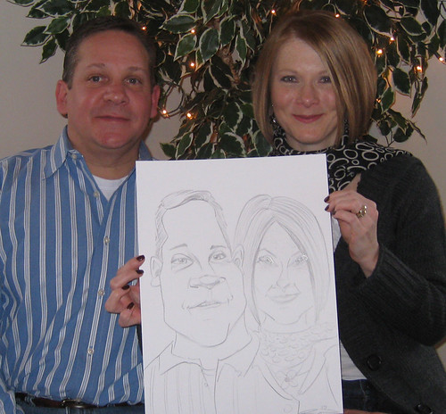 Live Caricatures January 2010