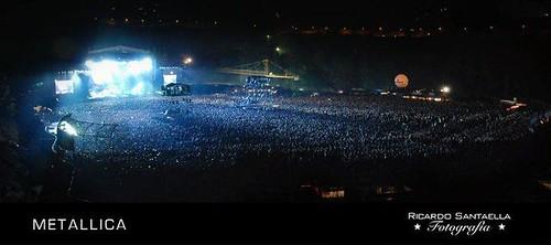 Panoramica: Metallica en Caracas 2010