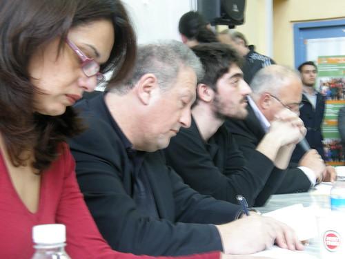 Κώστας Σκανδαλίδης και Αφροδίτη Αλ Σάλεχ στην Κομοτηνή