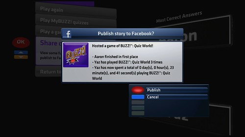 Buzz! Quiz World Facebook_main game