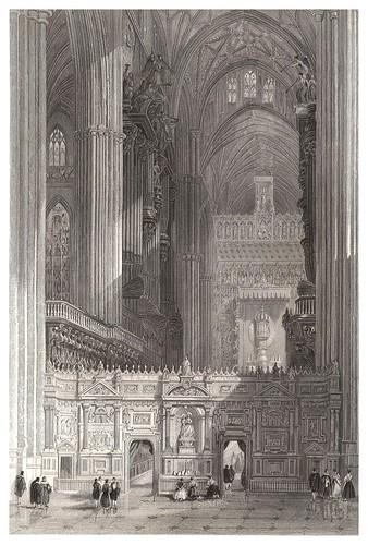 008-Catedral de Sevilla-Voyage pittoresque en Espagne et en Portugal 1852- Emile Bégin