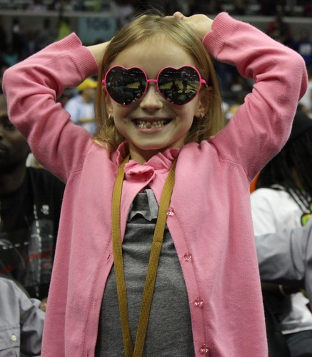 Washington Wizards, Little Girl, Cute Fan
