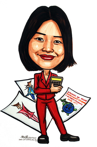 Caricature for Ministry of Manpower - 13