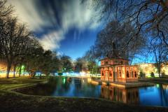 Pond of the Fisher's Cabin – Cabaña del Pescador, Parque del Retiro, Madrid, HDR