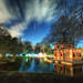 Pond of the Fisher's Cabin – Cabaña del Pescador, Parque del Retiro, Madrid, HDR