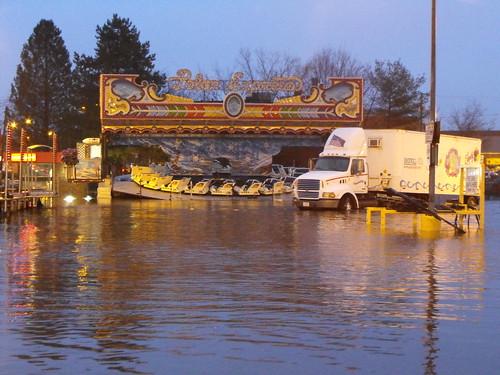 Flooded carnival