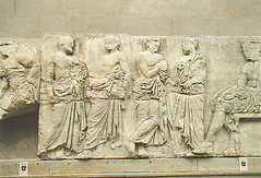 The pieces from the Parthenon (Emily Whale) Tags: theparthenonmarbles thepiecesfromtheparthenon traveltoseearts