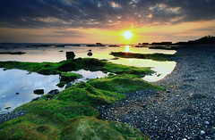sunset (Helminadia Ranford(New York)) Tags: sunset bali beach indonesia asif mengening jessyce