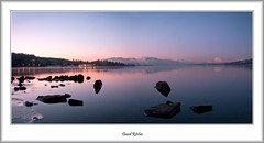 Last of the evening light at Balloch (flatfoot471) Tags: winter sunset water balloch lochlomond