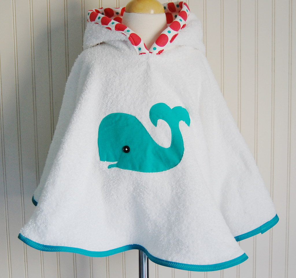 Little Whale Beach and Pool Hooded Cover Up