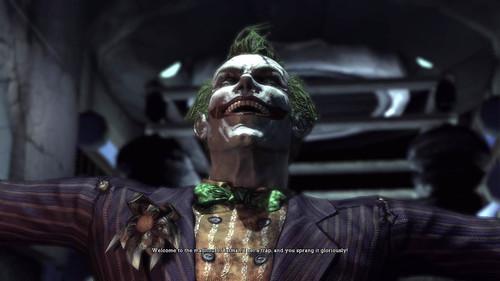 Batman Arkham Asylum guasón