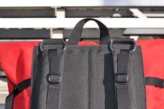 Waterproof Backpack (Nirekin) Tags: bike bicycle bag handmade montreal backpack messenger custom waterproof cordura jabalibags