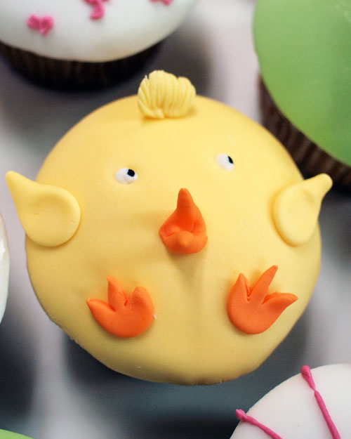 Planet Cake Easter Cupcakes Chicken
