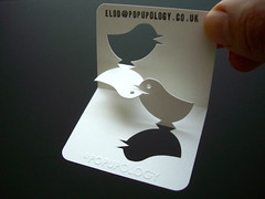 new 3-d business card series II - lovebirds (elod beregszaszi) Tags: sculpture art geometric matrix architecture paper paperart origami gallery cut geometry space exhibition kinetic kirigami spatial folded fold kiri popup proportion crease businesscard papercut volume ratio paperwork oa optic papermodel foldable ori papersculpture origamic origamicarchitecture kinetica collapsible paperfold elod papermatrix elodole popupology beregszaszi kiriorigami flatfoldable elodberegszaszi foldablearhitecture structurekinetic 3dbussinesscard popupbusinesscard3d papercubed