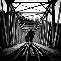 selfportrait (eskedahl) Tags: portrait bw norway railway lowkey srlandet blackdiamond portrett jernbane blackandwhiteonly absoluteblackandwhite canon7d eskedahl