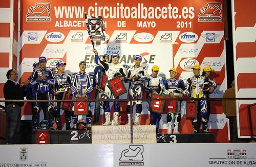 Podium EWC 8 Horas Nocturnas Albacete