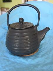 Genmaicha teapot