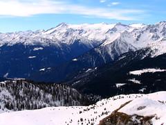 Mountains' shape