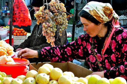 Fruit Vendor - Urgut, Uzbekistan