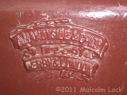 Handyside badge at Windsor & Eton Central railway station