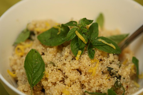 Quinoa with Lemon and Oregano