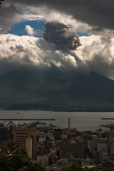 110909_IMGP8878-Pano-1.JPG (mamaligamania) Tags: 鹿児島市 鹿児島県 日本 jp kagoshima japan sakurajima