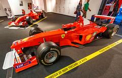 Ferrari F399 (Kácsor Zsolt) Tags: car canon 70d 1022 usm italy maranello light lights color colors wheel wheels sport sportcar formula1 red rim race racing indoor ferrari vehicle