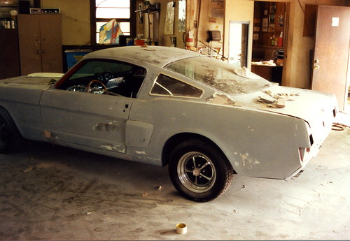 1966 Mustang Shelby GT 350 Clone