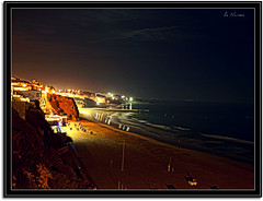 Albufeira at night (Dregster) Tags: naturaleza art praia beach