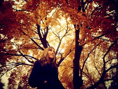 Fall (Rowena R) Tags: fallleaves colour r themed rowena krystina kryss orangeleaves fallportrait