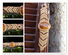 Fall Macrame (pacificdaphne) Tags: handmade bracelet macrame pulsera makrame artesania hechoamano macramé hiloencerado χειροποίητο βραχιόλι μακραμέ