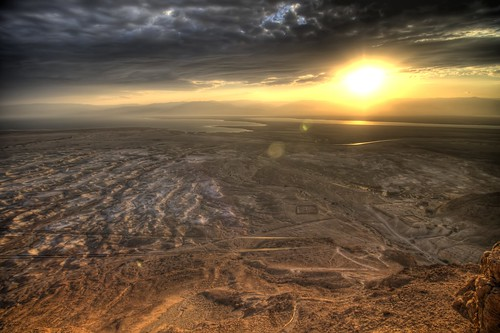 Judean Desert at Sunrise