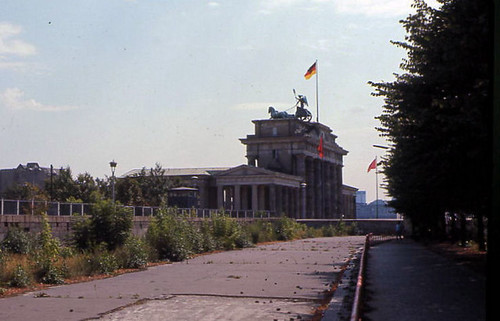Berlin '70 Brandenburg & Wall