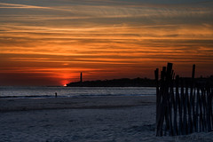 Clich (nini_filippini) Tags: sunset sable plage phare coucherdesoleil gironde charentesmaritimes saintgeorgesdedidonne