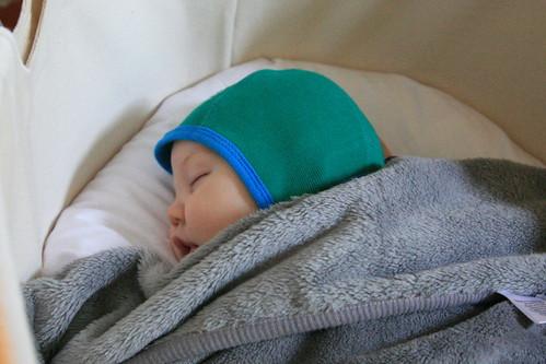 Abel slaapt