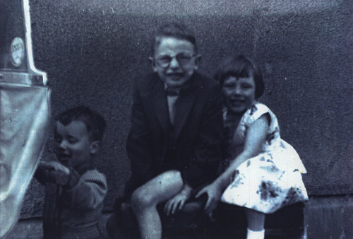 Jim, Margaret and Peter, 1960
