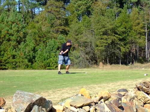 Golfing (by ann-dabney)