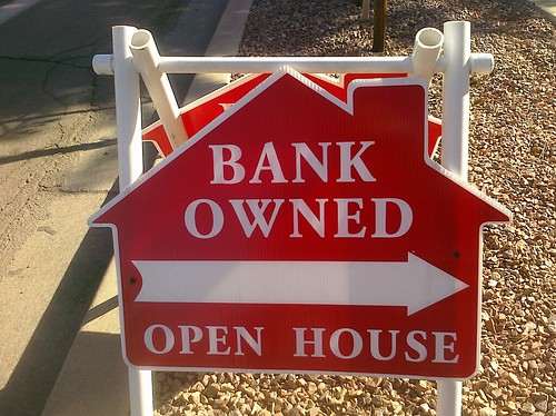 "Bank owned homes - A ""sign of the times?"""