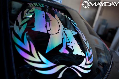 Rainbow Chrome DA logo, gotta represent!