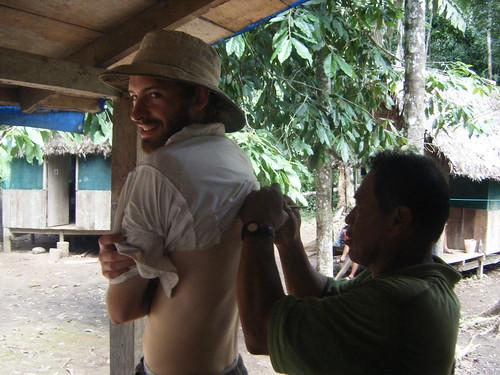 Jeff Getting a Henna