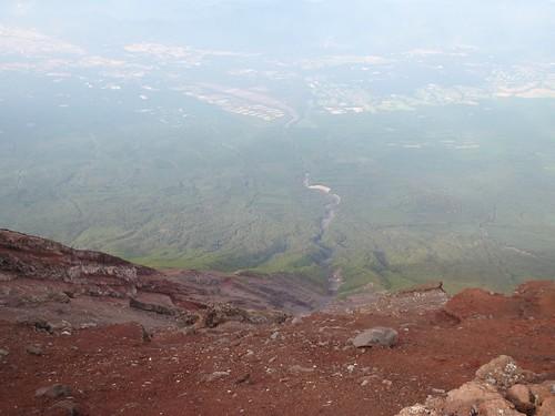 Vistas desde el Fuji