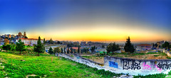Neapoli (Legeon) Tags: city trees sunset church town wide panoramic thessaloniki hdr salonica graphity neapoli