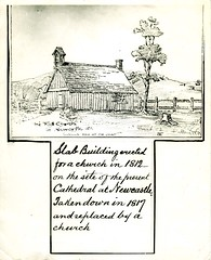 The First Church in Newcastle, NSW, 1812