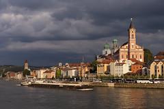 Abendsonne über Passau (Helmut Reichelt) Tags: germany deutschland bavaria stadt getty soe gettyimages passau donau niederbayern