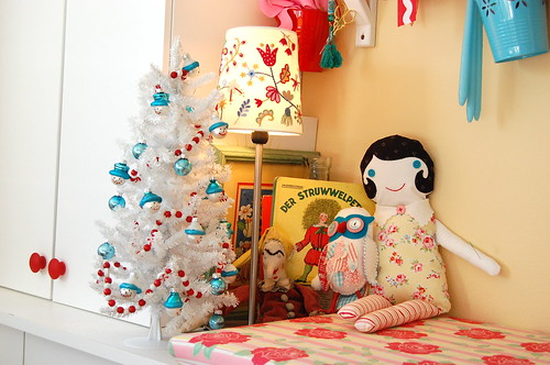 Christmas dec studio makeover