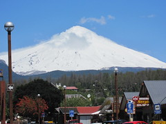 Volcano Villarrica View from Pucon