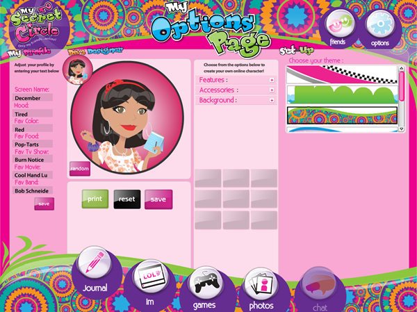 My Secret Circle: A protected social network for girls