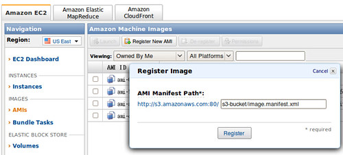 EC2-Register New AMI @ 20091214
