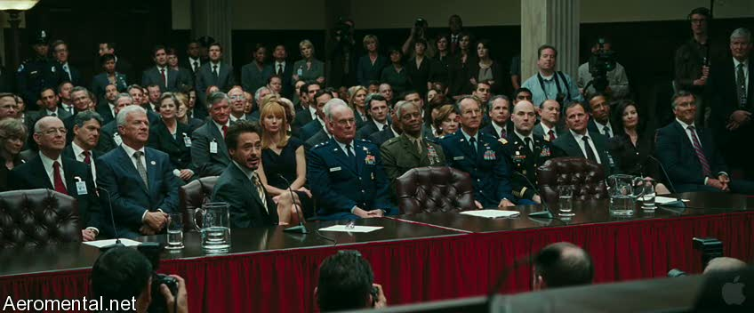 Iron Man 2 Trailer 2 congress