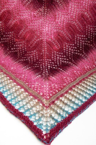 Johanna shawl finished